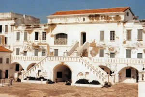 Cape Coast Castle.