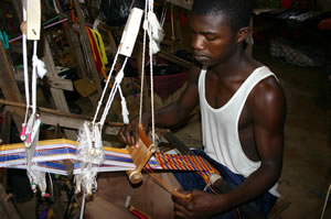 Kente Weaving, Bonwire.